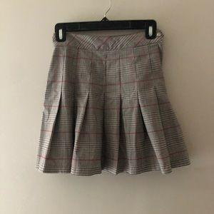 H&M Skirts - H&M Plaid Pleated Skirt